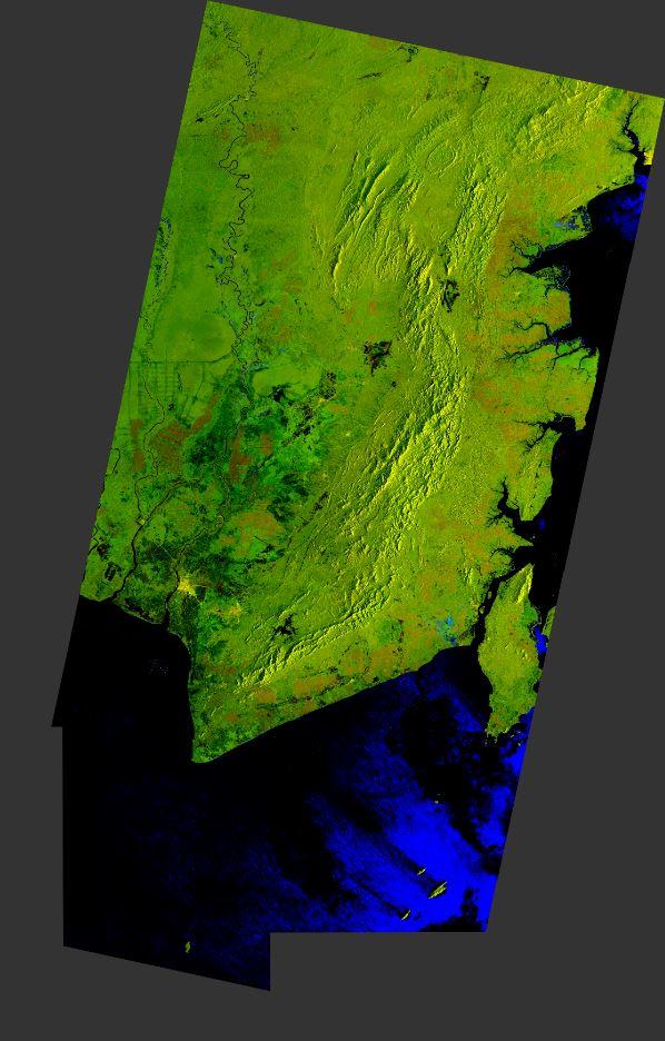 Analisis Visual Banjir Kalsel dari Citra ESA Sentinel-1